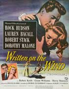 Written on the Wind - 27 x 40 Movie Poster - Style B
