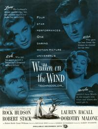Written on the Wind - 11 x 17 Movie Poster - Style A