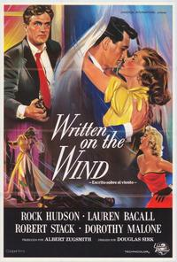 Written on the Wind - 43 x 62 Poster - Foreign - Bus Shelter Style A