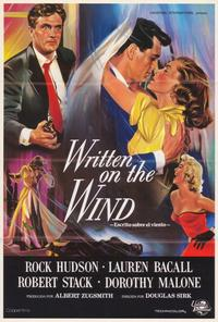 Written on the Wind - 27 x 40 Movie Poster - Spanish Style A