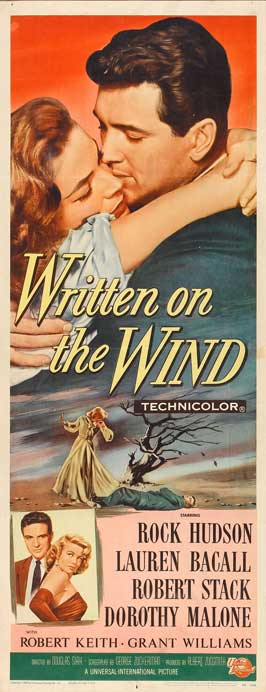 Written on the Wind - 14 x 36 Movie Poster - Insert Style A