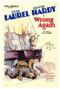 Wrong Again - 27 x 40 Movie Poster - Style A