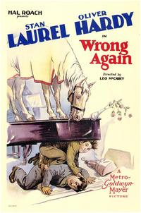Wrong Again - 43 x 62 Movie Poster - Bus Shelter Style A