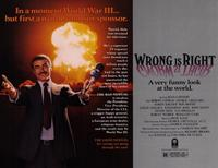 Wrong Is Right - 11 x 14 Movie Poster - Style A