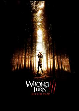 Wrong Turn 3: Left for Dead - 27 x 40 Movie Poster - Style D