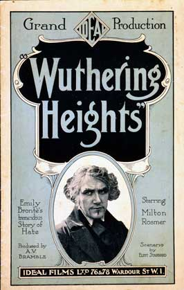 Wuthering Heights - 11 x 17 Movie Poster - Style D