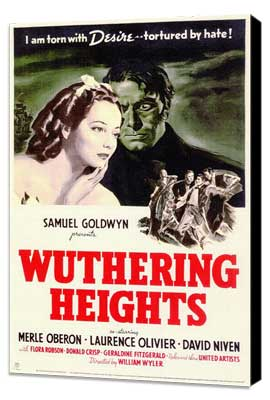 Wuthering Heights - 11 x 17 Movie Poster - Style A - Museum Wrapped Canvas