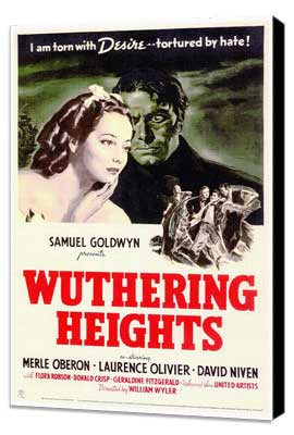 Wuthering Heights - 27 x 40 Movie Poster - Style A - Museum Wrapped Canvas