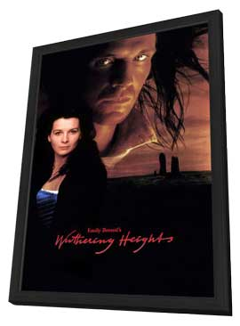 Wuthering Heights - 11 x 17 Movie Poster - Style A - in Deluxe Wood Frame