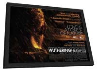 Wuthering Heights - 27 x 40 Movie Poster - UK Style A - in Deluxe Wood Frame