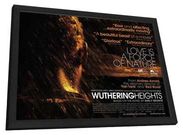 Wuthering Heights - 11 x 17 Movie Poster - UK Style A - in Deluxe Wood Frame