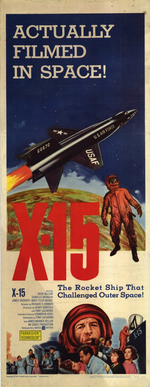 X-15 Movie Posters From Movie Poster Shop