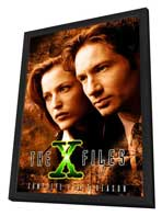 The X Files (TV) - 27 x 40 TV Poster - Style B - in Deluxe Wood Frame