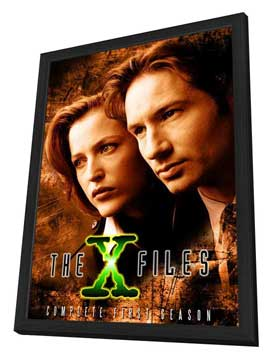 The X Files (TV) - 11 x 17 TV Poster - Style A - in Deluxe Wood Frame