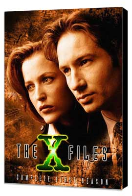 The X Files (TV) - 27 x 40 TV Poster - Style B - Museum Wrapped Canvas