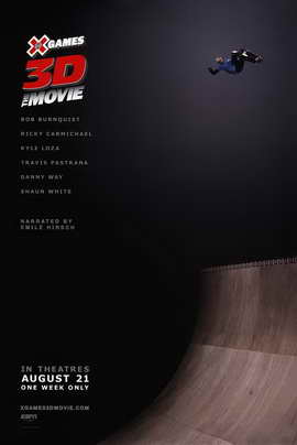 X Games 3D The Movie - 11 x 17 Movie Poster - Style A