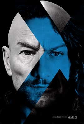 X-Men: Days of Future Past - DS 1 Sheet Movie Poster - Style A