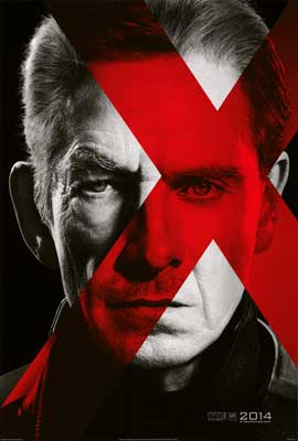 X-Men: Days of Future Past - DS 1 Sheet Movie Poster - Style B
