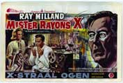 X: The Man with X-Ray Eyes - 11 x 17 Poster - Foreign - Style A