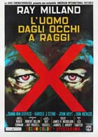 X: The Man with X-Ray Eyes - 11 x 17 Movie Poster - Italian Style A