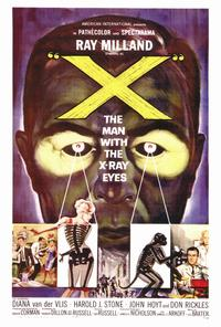 X: The Man with X-Ray Eyes - 27 x 40 Movie Poster - Style A