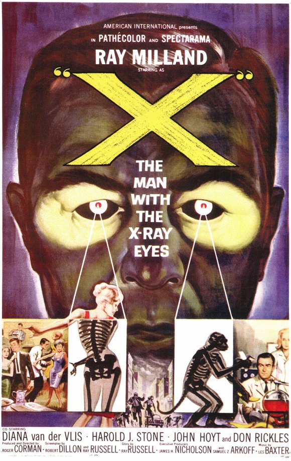 X The Man With X Ray Eyes Movie Posters From Movie Poster
