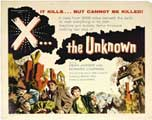 X the Unknown - 22 x 28 Movie Poster - Half Sheet Style A