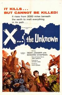 X the Unknown - 11 x 17 Movie Poster - Style A