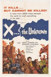 X the Unknown - 27 x 40 Movie Poster - Style A