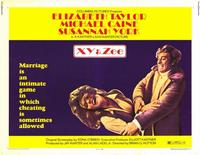 X, Y & Zee - 11 x 14 Movie Poster - Style A