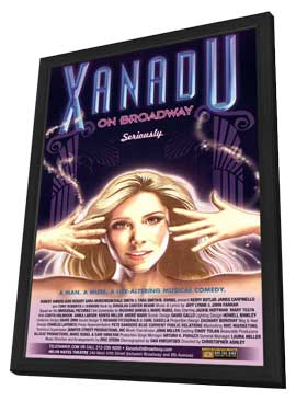 Xanadu (Broadway) - 11 x 17 Poster - Style A - in Deluxe Wood Frame