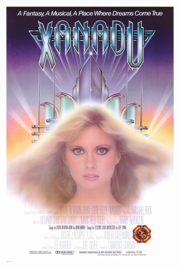 Xanadu - 43 x 62 Movie Poster - Bus Shelter Style A