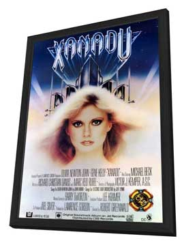 Xanadu - 11 x 17 Movie Poster - Style A - in Deluxe Wood Frame