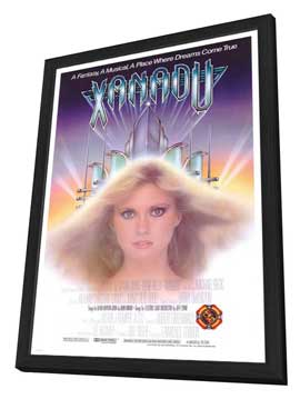 Xanadu - 11 x 17 Movie Poster - Style B - in Deluxe Wood Frame