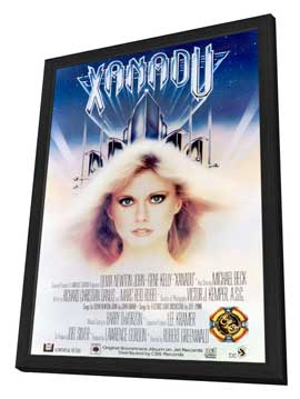 Xanadu - 27 x 40 Movie Poster - Style A - in Deluxe Wood Frame