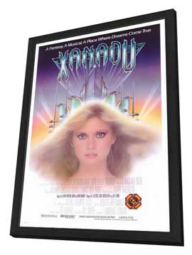 Xanadu - 27 x 40 Movie Poster - Style B - in Deluxe Wood Frame