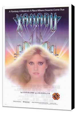 Xanadu - 27 x 40 Movie Poster - Style B - Museum Wrapped Canvas