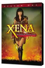 Xena Warrior Princess - 11 x 17 TV Poster - Style B - Museum Wrapped Canvas