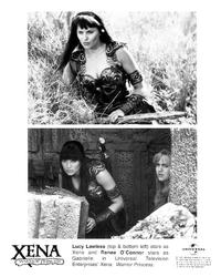 Xena Warrior Princess - 8 x 10 B&W Photo #1