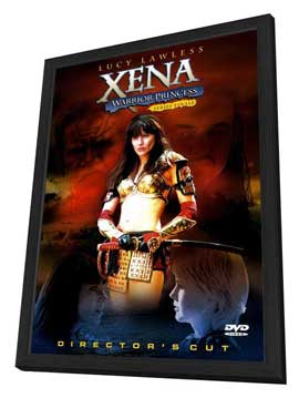 Xena Warrior Princess - 27 x 40 TV Poster - Style A - in Deluxe Wood Frame