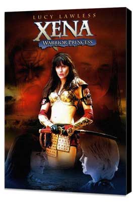 Xena Warrior Princess - 11 x 17 TV Poster - Style A - Museum Wrapped Canvas