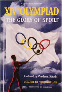 XIV Olympiad: The Glory of Sport - 27 x 40 Movie Poster - Foreign - Style A