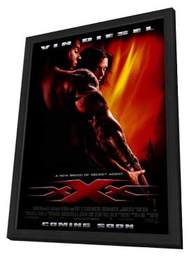 XXX - 11 x 17 Movie Poster - Style A - in Deluxe Wood Frame