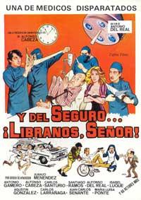 Y del seguro... libranos Senor! - 11 x 17 Movie Poster - Spanish Style A