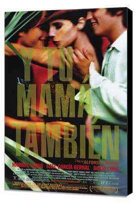 Y Tu Mama Tambien - 11 x 17 Movie Poster - Style C - Museum Wrapped Canvas