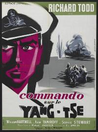 Yangtse Incident: The Story of H.M.S. Amethyst - 11 x 17 Movie Poster - French Style A