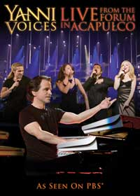 Yanni: Voices - Live from the Forum in Acapulco (TV) - 27 x 40 Movie Poster - Style A