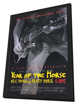 Year of the Horse - 27 x 40 Movie Poster - Style A - in Deluxe Wood Frame