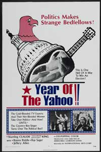 Year of the Yahoo - 27 x 40 Movie Poster - Style A