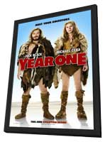 Year One - 11 x 17 Movie Poster - Style A - in Deluxe Wood Frame